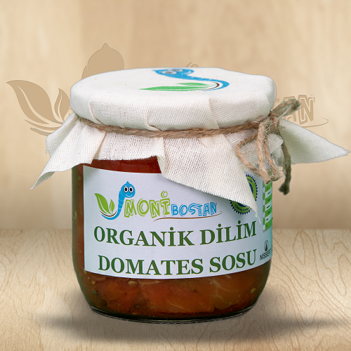 Organik Dilim Domates Sosu (400 g)